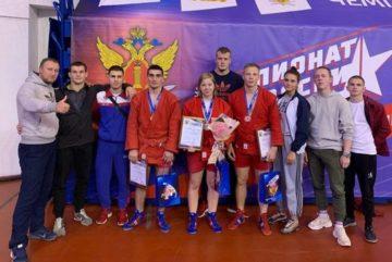 Сборная команда ВИПЭ одержала победу на Чемпионате ФСИН России по самбо