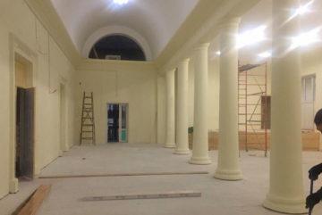 В Соколе завершается первый этап капремонта Дворца культуры «Солдек»