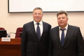 Губернатор высоко оценил нового мэра Череповца