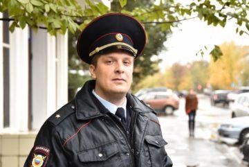 Майор полиции Михаил Грязнов стал лучшим участковым Вологды