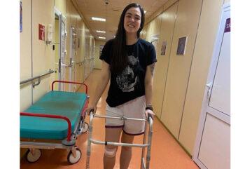 Баскетболистке Кетрин Шваб сделали успешную операцию на коленном суставе