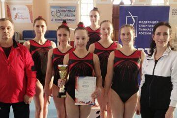 Вологжане завоевали «серебро» на чемпионате СЗФО по спортивной гимнастике
