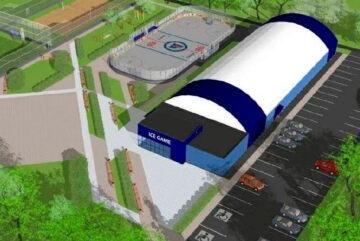 Хоккеисты и фигуристы Череповца готовятся к открытию нового ледового центра