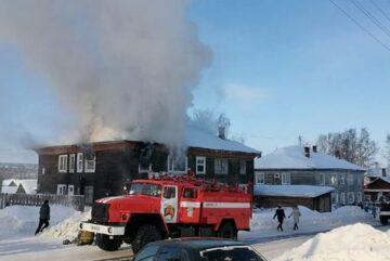 Женщина погибла на пожаре в Никольске