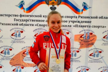 Юная полиатлонистка из Вологодской области завоевала «золото» на Первенстве России