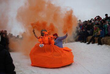 Самый космический драндулет выберут на фестивале самодельных саней под Вологдой