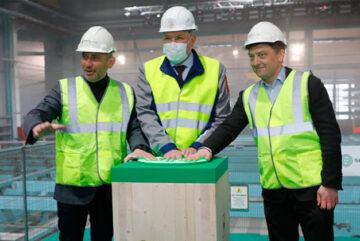 Первый в России завод CLT-панелей открыли в Вологодской области