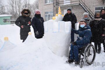 Жюри конкурса «Снежная крепость» приступило к работе
