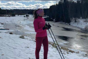Вологодская лыжница заняла третье место на первенстве России