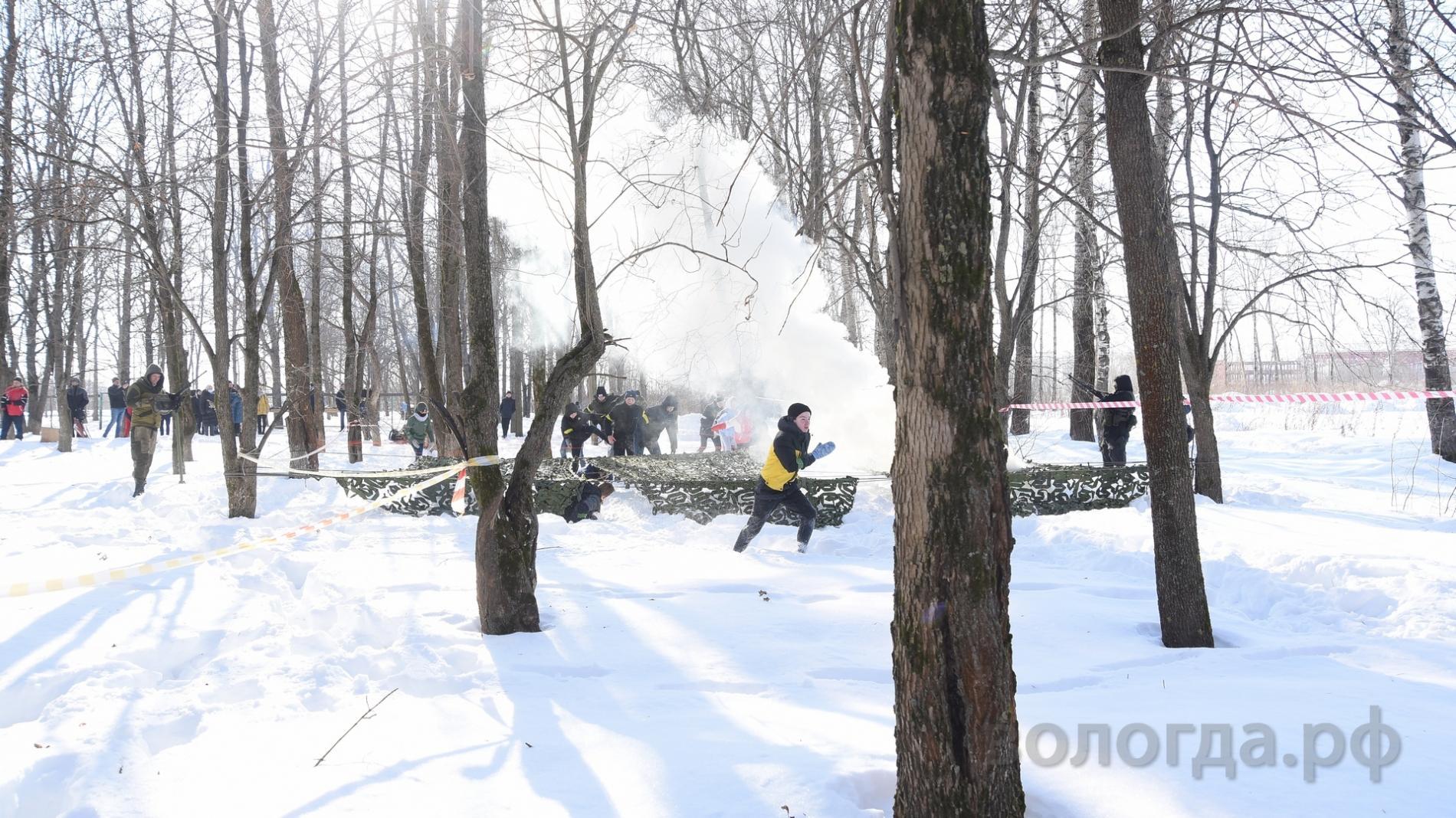 Вторая военно-патриотическая игра «Виват, Победа!» прошла в Вологде