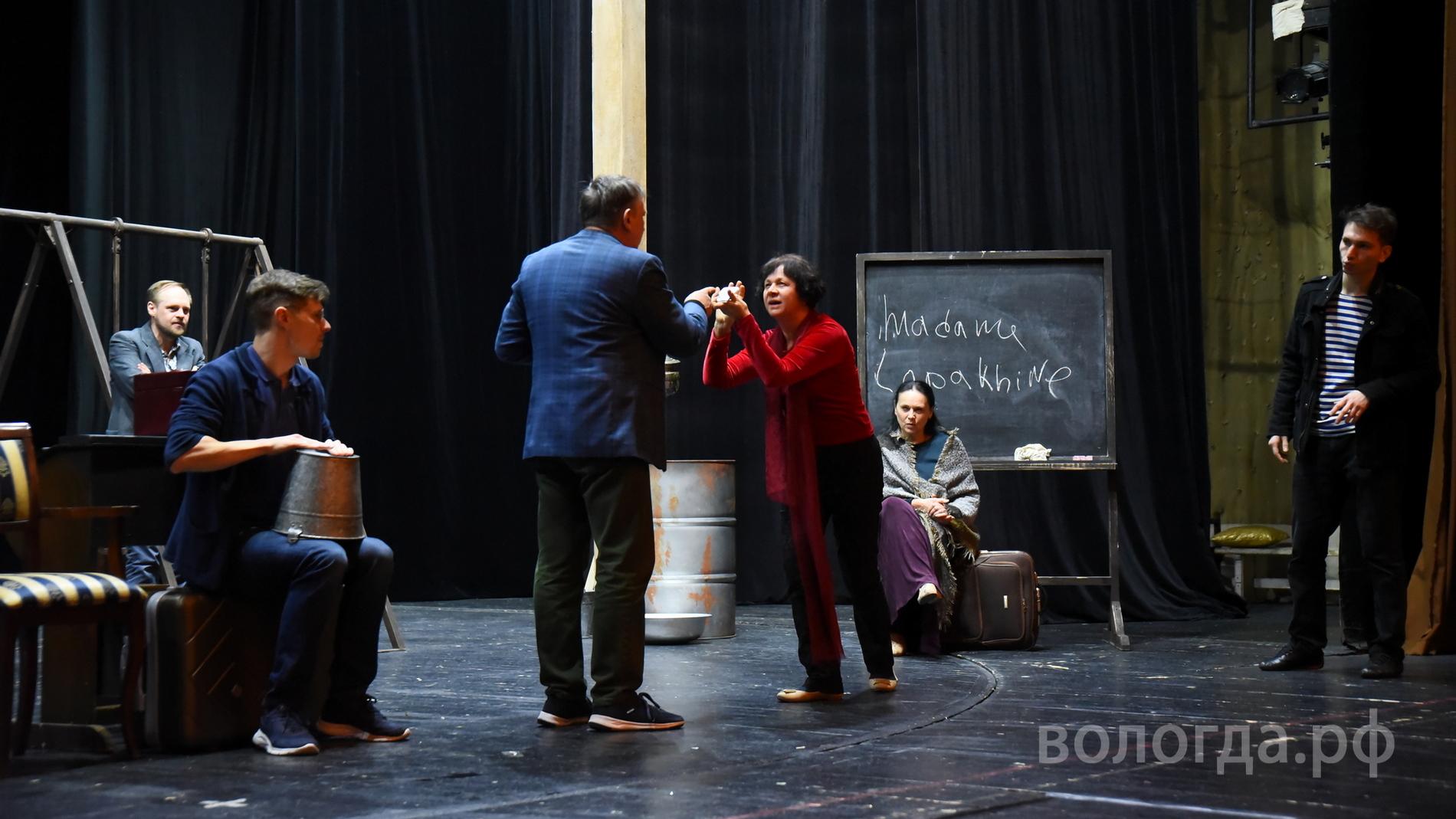 «Вишневый сад» спустя год снова «расцветет» на сцене Вологодского драматического театра