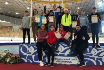 Вологодские конькобежцы стали победителями еще одного чемпионата