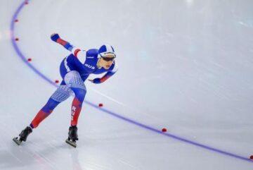 Евгения Лаленкова получила звание заслуженного мастера спорта по конькобежному спорту