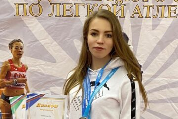 Курсант ВИПЭ Яна Перепелица «набегала» на серебро и бронзу в Ярославле