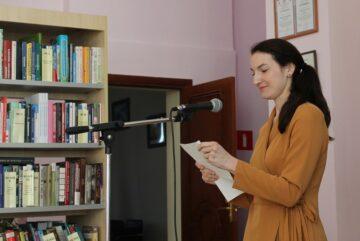 Победителем городского этапа Чемпионата по чтению вслух «Открой рот» стала Тамара Левинцева