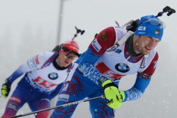 Максим Цветков финишировал в масс-старте на чемпионате России на шестом месте
