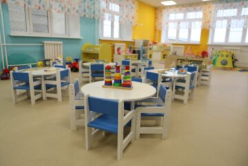28 детских садов построили в Вологодской области за восемь лет