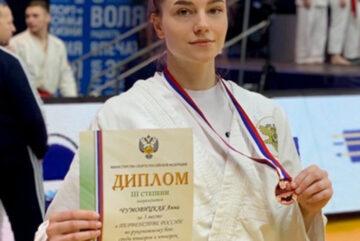 Вологодская курсантка взяла бронзу первенства России по рукопашному бою