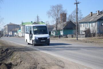 На период строительства моста в Харовске автобус будет ходить до Сплавного