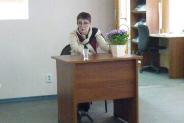 В вологодской библиотеке с успехом прошел творческий вечер Марии Таранченко