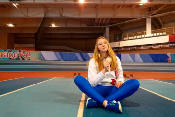 Вологжанка заняла первое место на этапе Кубка России по полиатлону