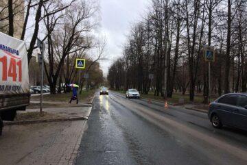 Молодую девушку сбила машина в Череповце