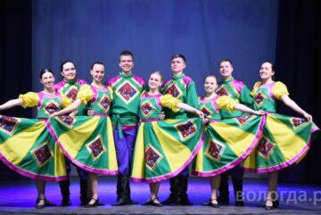 Полвека в Вологде существует ансамбль народного танца «Рябинка»