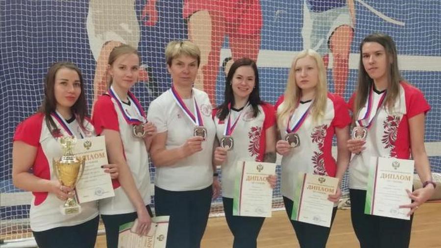 Бронзу взяли вологжане на чемпионате России по голболу