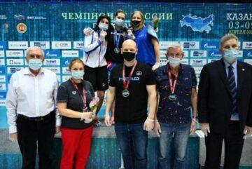 Вологодская спортсменка Анастасия Маркова везет бронзу с чемпионата России по плаванию