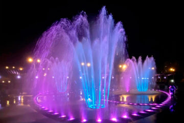 В Череповце открыли сезон фонтанов