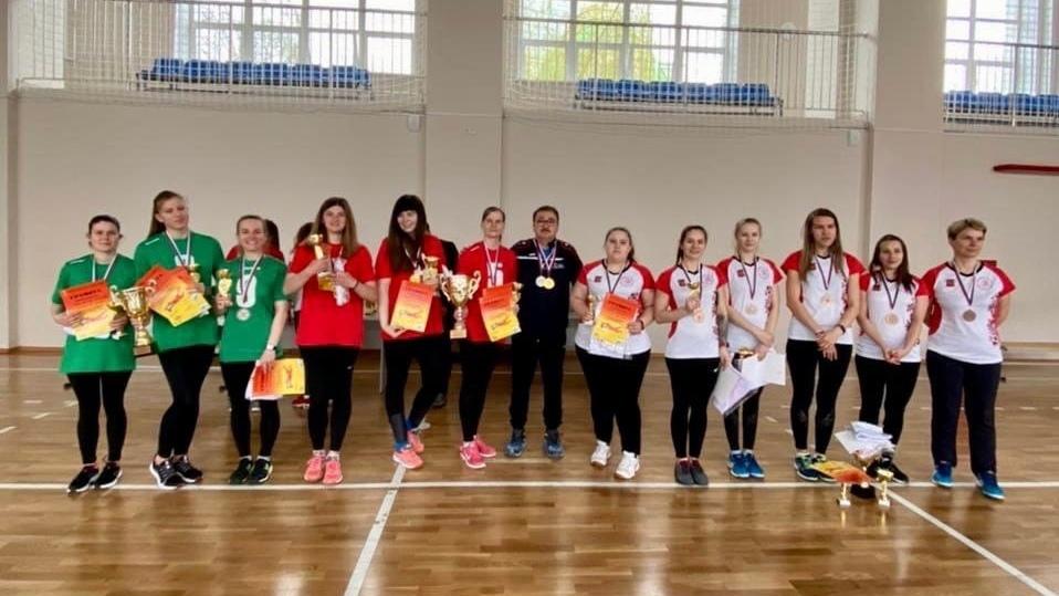 Вологодские голболистки взяли бронзу в Тульской области