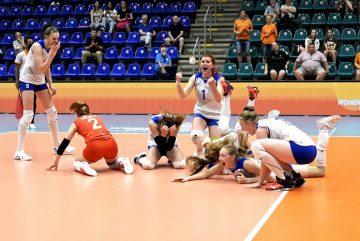 Волейболистки Череповца стали бронзовыми призерами чемпионата мира U-20