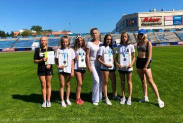 Вологодские легкоатлетки взяли серебро на всероссийских соревнованиях
